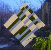 Striped Block (color study)