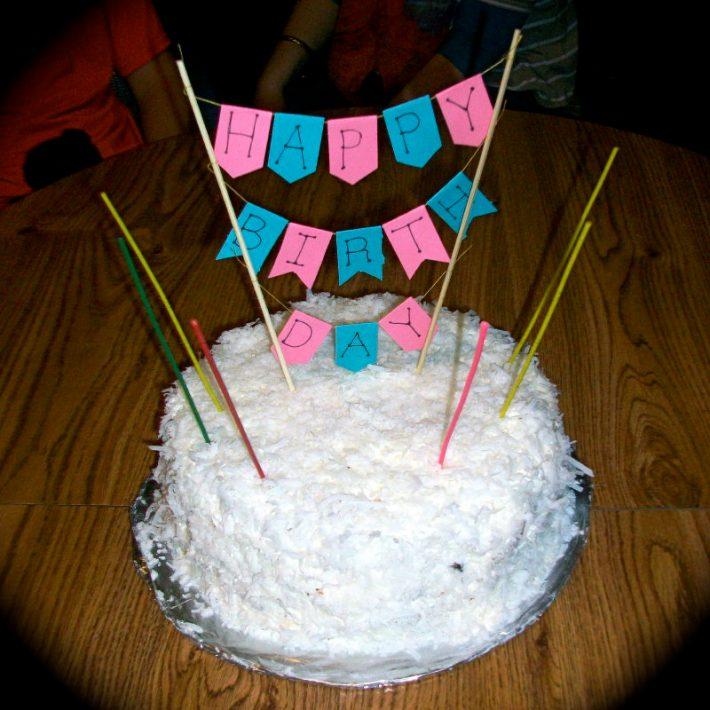 Day 19- Cake Decoration