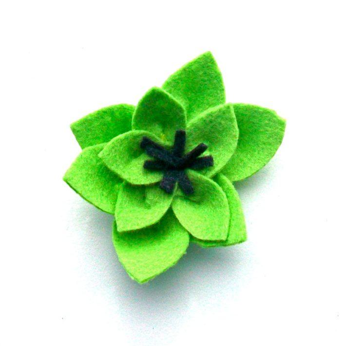 Day 20- Green Flower
