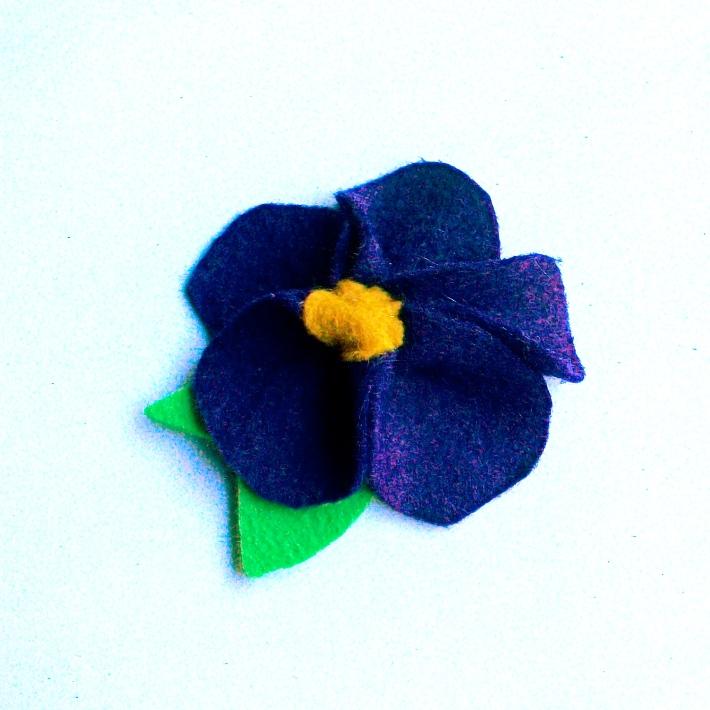 Day 02- Felt Violet
