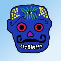 Day 1 - Sugar Skull