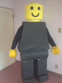 Day 2 -- Large Minifig