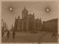 The Day There Were Two Suns - St. Giles, Edinburgh (1879)