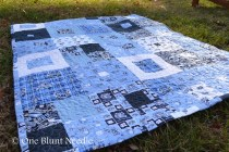 Day 6 UNC Chapel Hill Quilt for Etsy Shop 2