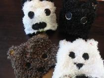 """Teddy Bear Hats for my class' performance of """"Teddy Bear Picnic"""""""