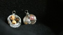 "Day Twenty-Eight:  ""Momma Bird Nest Pendants"""