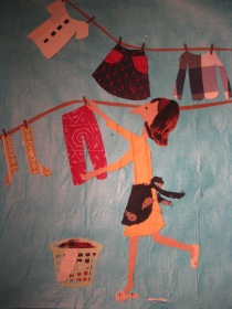 hanging clothes 001