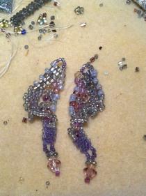 Freeform earrings