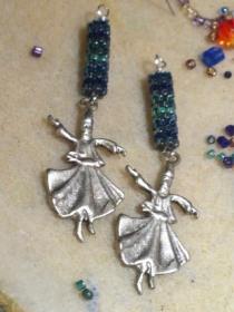 Dervish earrings