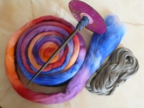 Materials for making conductive felt