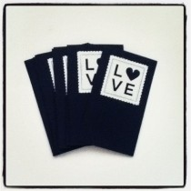 Love Cards_blue color way