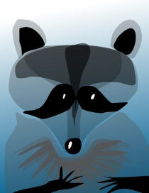 Thing-A-Day #8 — digital Raccoon