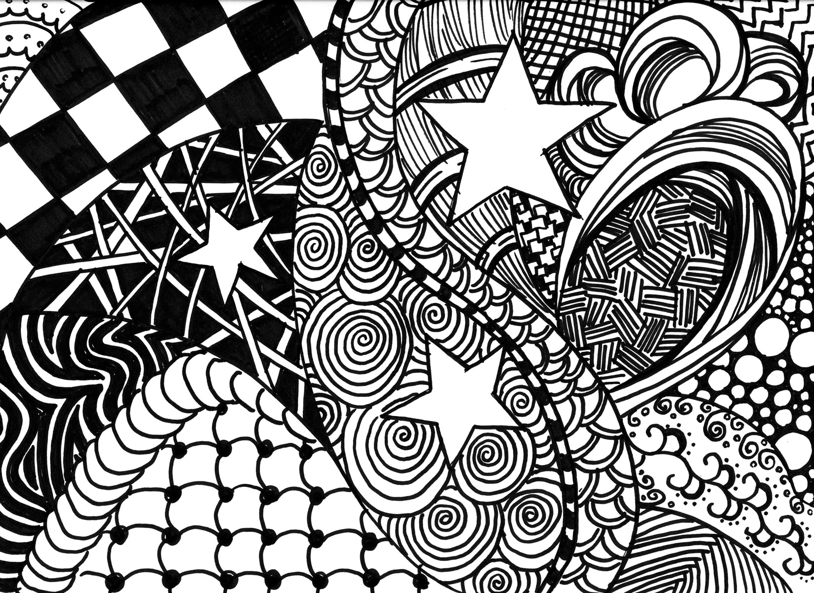 Easy Doodle Art Designs : Zentangle: coping with cancer through doodle art