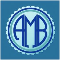 AMB monogram
