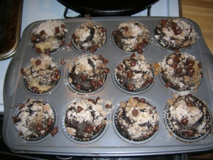 banana-chocolate-muffins