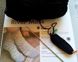 Crocheted Sock Toe