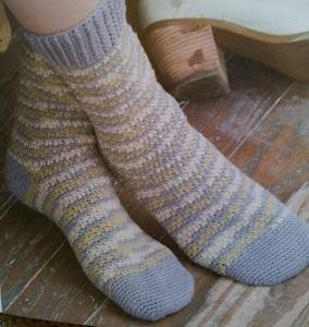 Crocheted Socks Pattern