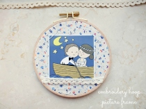 Embroidery hoop picture frame4