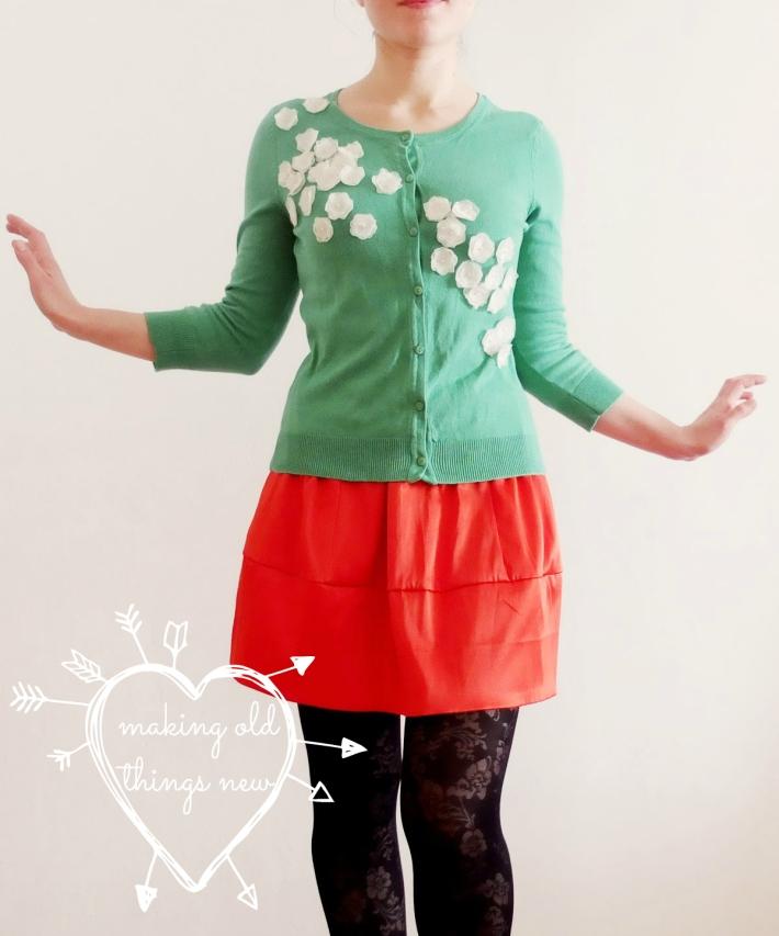 flowery cardigan copy