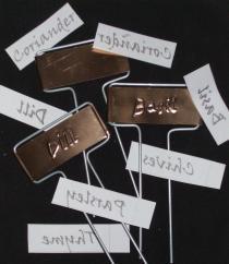herb tags