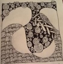 So relaxing ... doodling away ...