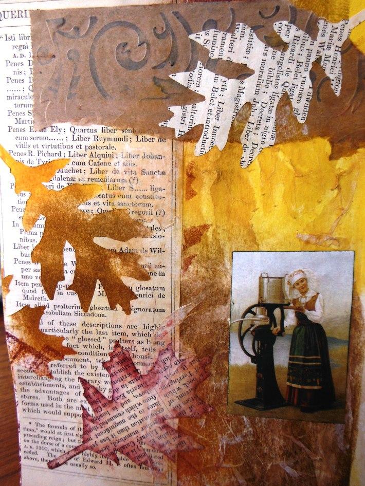 Make 23, Art journal page
