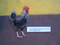 It is better to have a hen tomorrow than an egg today.