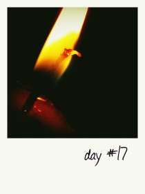 candle in the dark ;)