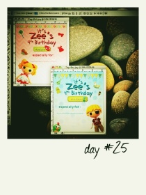 zee's birthday tag card