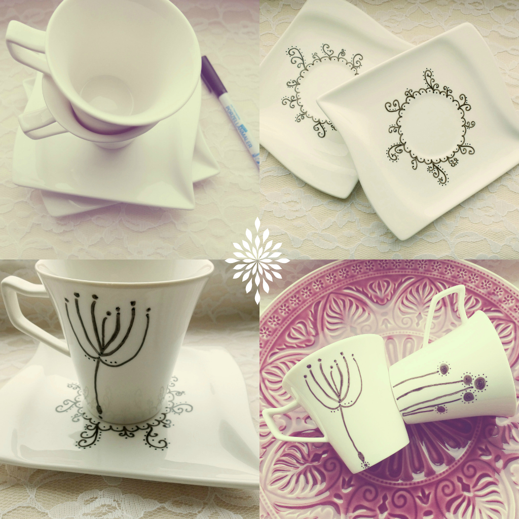 Day 1: Doodling on coffee cups | Thing-a-Day Forever