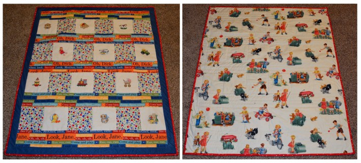 Day 12 & 13: Dick & Jane Quilt
