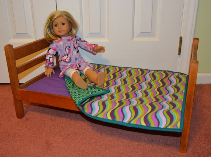 Day 17 & 18: American Girl Quilt