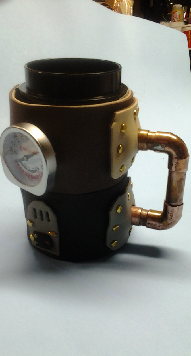 TAD Day 1  Steampunk coffee mug