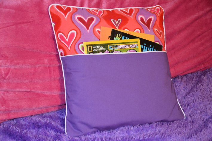 Days 24 & 25: Book Pillow