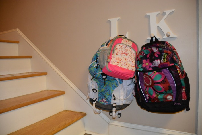 Day 15: Backpack hangers