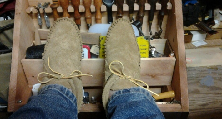 TAD Day 16-Moccasins