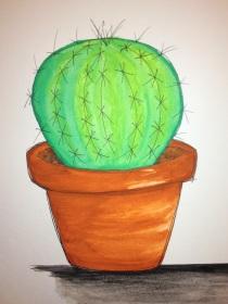 PrettyProject_watercolor_cactus
