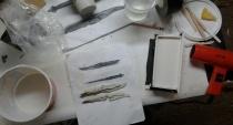 sqid knife casting