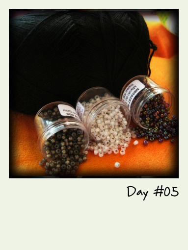 3 different seed beads